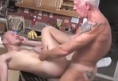 Cowboy Dad fucks naughty boy
