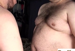 Super chub breeding hairy superchub until cum