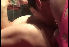 EATING AND SPANKING MY SISTERS PUSSY &amp_ BUTTHOLE