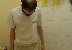 Slut pissing itself Voyeur