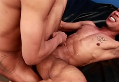 Athletic ebony cock riding BBC