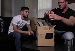 Brad Banks giving Vadim Black superb blowjob