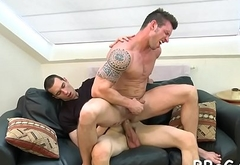 Homosexual chap sure knows how to ride