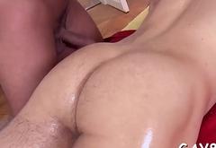 Sucking knob and fucking ass
