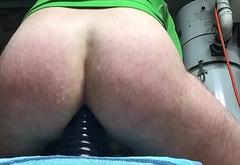 chastity sissy getting a good fucking