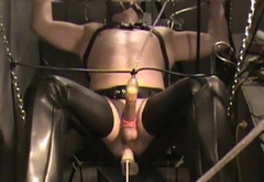 BDSM Loving Guy Cums 3x'_s (Screaming) In 9 Minutes