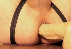 Huge Pornstar dildo in My Little hole