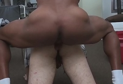 Spex straighty throatfucked at sexaudition