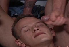 Amateur Twink Troy Segals Gets A Special Coating Of Facial Cream - HardOrgy