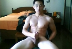 Chinese gay hot jerk off