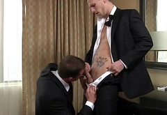 Groom fucked by best man