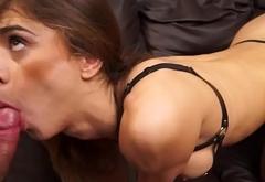 Brazilian TS Jackeline Dark Humiliated
