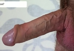 Hung hunk cum covered