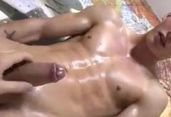 Masturbating a boy