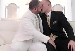 Bear raw fucks mormon ass