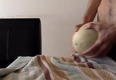 Fucking a melon