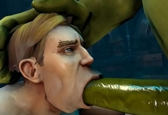 Gay Orc Blow Job 1