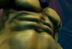 Gay Orc Blowjob 2