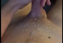 Huge load after six days without cumming