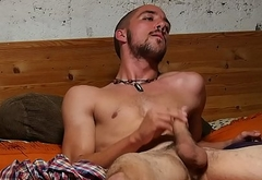 Spy Cam - Young man with small cock wanks.MOV