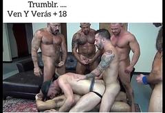 Gay Gangbang Hot Loads