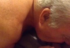Senior Man Sucking A Cock