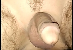 I fuck my wet ass with a fat dildo