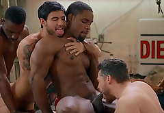 Being Hardcore Interracial Sort out Explores The Erotic Playground Unendingly Others Cocks - Men