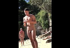 More Naked Guys on Shore Spycam