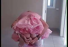 sissy mayya fucks his sissy crack in his maids uniform