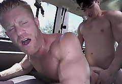 BAIT Crammer - Johnny V Socking Has Unconcerned Sex With Straight Bait Axel Kane