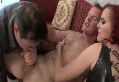 cuckold forced bisex by milf femdom mistress